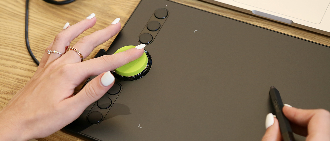 Drawing on XP-Pen Deco 02 graphics pad for laptop